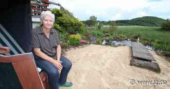 Der Strand in Großenmarpe   Lokale Nachrichten aus Blomberg - Lippische Landes-Zeitung