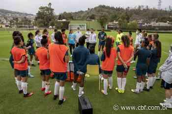Seleção Feminina Sub-20 se apresenta em Pinheiral para período de treinamentos - Confederação Brasileira de Futebol - cbf.com.br
