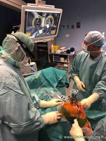 All'Ospedale di Negrar effettuati 5 protesi al ginocchio con la realtà aumentata - Tecnomedicina