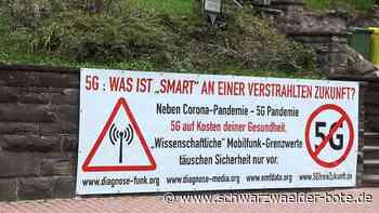Bürgerinitiative gegen 5G - Große Angst vor hoher Strahlenbelastung in Bad Liebenzell - Schwarzwälder Bote