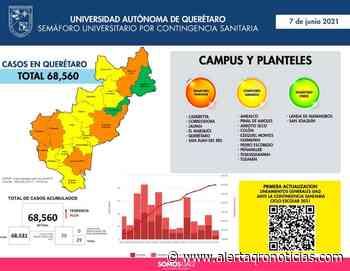 Campus UAQ de Landa y San Joaquín pasan a color verde en Semáforo Universitario - AlertaQro! Noticias