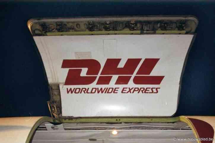 Cargovlucht van DHL in de problemen in het holst van de nacht