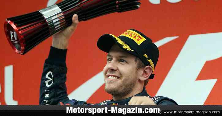 Sebastian Vettel: Seine besten Formel-1-Podien - Motorsport-Magazin.com
