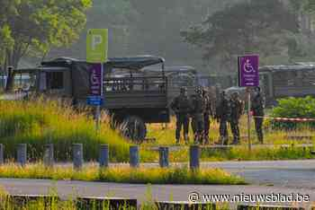 Leger en politie verzamelen aan stadion Genk: nieuwe zoekactie naar Conings