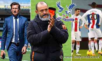 Crystal Palace END talks with Nuno Espirito Santo over becoming their new manager