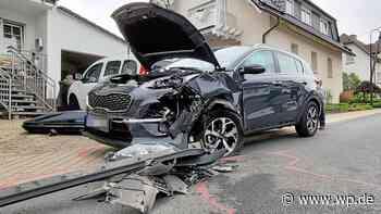 Finnentrop: Drei Verletzte bei Unfall mitten in Ostentrop - WP News