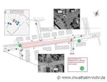 Bauarbeiten zur Erneuerung der Karlsruher Straße