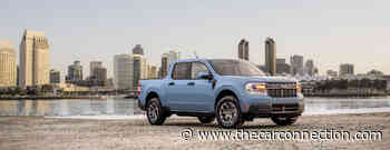2022 Ford Maverick buzzes the hybrid truck tower
