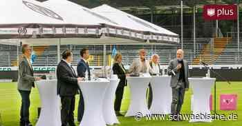 OB-Wahlkampf in Aalen nimmt Fahrt auf   schwäbische - Schwäbische