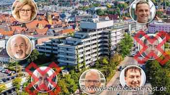 OB-Wahl: Ensslin und Seitzer sind nicht mehr dabei   Stadt Aalen - Schwäbische Post