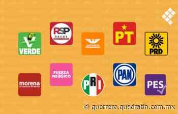 Morena, arriba en Acapulco y Chilpancingo; PRI-PRD, Iguala y Zihuatanejo - Quadratin Guerrero
