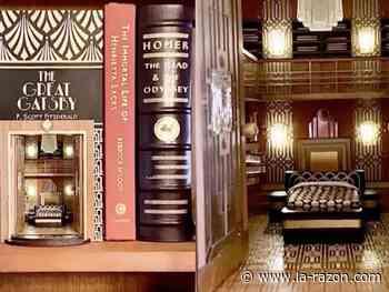 El Gran Gatsby inspira a una mujer a crear un increíble rincón de lectura - La Razón (Bolivia)
