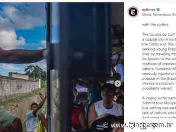 'Bigu' em ônibus de Olinda ganha destaque no jornal The New York Times - Folha de Pernambuco