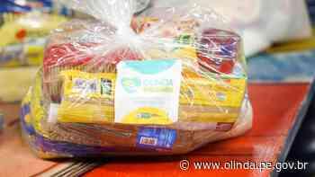Projeto Olinda Solidária já distribuiu mais de uma tonelada de alimentos e produtos de higiene - Prefeitura de Olinda