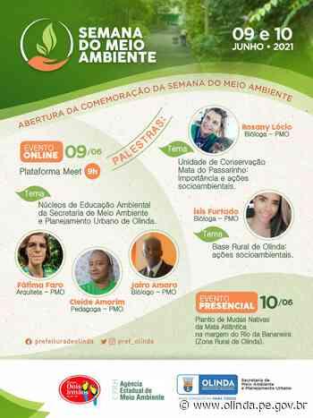 Olinda conta com programação pela Semana do Meio Ambiente - Prefeitura de Olinda