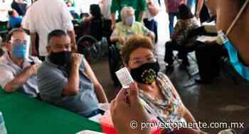 Reactivan vacunación en personas de 40 a 49 años de Guaymas, Caborca, Puerto Peñasco y Sonoyta y segundas dosis de AstraZeneca en adultos mayores de 60 en Hermosillo - Proyecto Puente