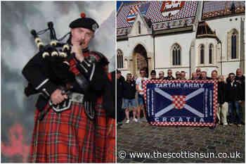 Scotland-daft Croatian footie fan who calls himself 'Dejan MacGregor' plans to cheer both teams on during E... - The Scottish Sun