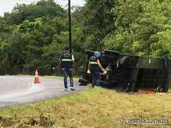 Tragedia en Coclé. Un camionero perdió el control y falleció aplastado - El Siglo Panamá