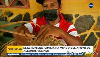 Familia en Coclé no puede vender sus artesanías, deben desalojar su casa - TVN Panamá
