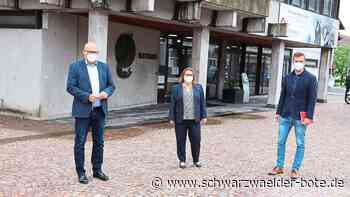 Rathaus in St. Georgen - Blanka Amann neue Kämmerin - Schwarzwälder Bote