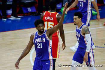 Philadelphia iguala la serie con 40 puntos de Joel Embiid - Nbamaniacs