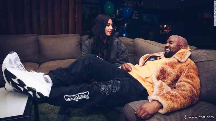 Kim Kardashian says she'll love Kanye West 'for life' in birthday post - CNN