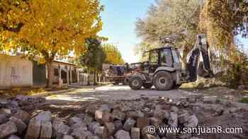 El Barrio Los Olivos será pavimentado - San Juan 8