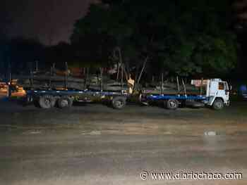 Miraflores: secuestraron 20.000 kilos de madera que transportaban sin permisos - Diario Chaco