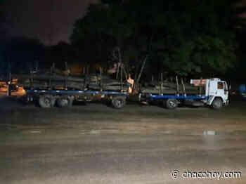Miraflores, secuestran veinte mil kilogramos de algarrobo - ChacoHoy