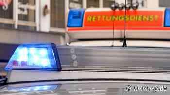 Ennepetal: Auto kippt bei Zusammenstoß um - Westfalenpost