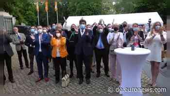 Triumph in Sachsen-Anhalt mit 37,1%: Wind in den Segeln der CDU - Euronews