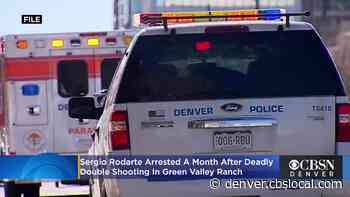 Sergio Rodarte Arrested A Month After Deadly Double Shooting In Green Valley Ranch - CBS Denver