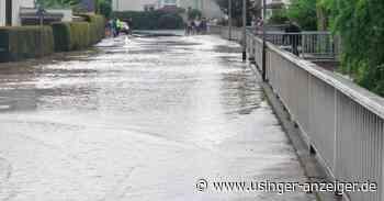 Unwetter in Neu-Anspach: Stadt und DRK richten Spendenkonto ein - Usinger Anzeiger