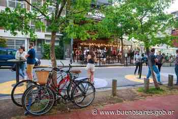 Áreas peatonales, para disfrutar con distanciamiento al aire libre - buenosaires.gob.ar