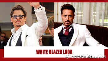 Johnny Depp Vs Robert Downey Jr: Which Heartthrob Aced The Glamour Game In White Blazer? - IWMBuzz