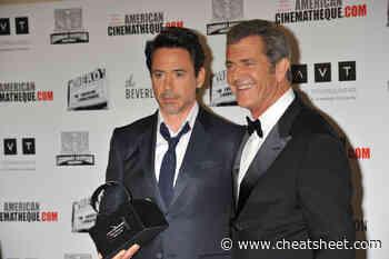 Robert Downey Jr. and Mel Gibson Became Friends on a Box Office Flop - Showbiz Cheat Sheet