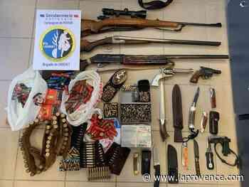 Cadenet : mari et femme accusés de violences mutuelles, un arsenal découvert à leur domicile - La Provence