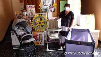 Le Rotary de Carmaux a apporté du matériel aux Restos bébés - ladepeche.fr
