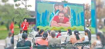 Entrega Haddad mural para disfrute de las familias de Lomas de Ahuatlán, Cuernavaca - Diario de Morelos