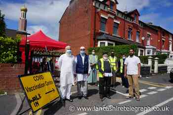 Blackburn mosque hosts pop-up vaccination clinic