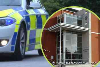 Man caught with drugs in Herefordshire town