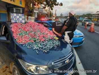 Homem é preso em Rio Bonito transportando drogas para a Região dos Lagos - O São Gonçalo