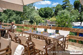 La terrasse plage et brunch EffetMer de la Maison Louveciennes pour l'été - sortiraparis