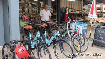 À Yvetot et à Allouville-Bellefosse, des vélos pour développer le tourisme - Paris-Normandie