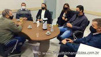 Vereadores de Morro da Fumaça visitam a Câmara de Forquilhinha - Forquilhinha Notícias