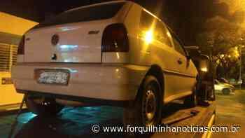 Automóvel furtado é recuperado na Linha Eyng - Forquilhinha Notícias