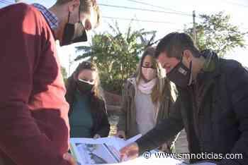 Malvinas Argentinas: Pavimentación de las calles Paracas y Combate de San Lorenzo - SMnoticias