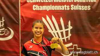 Jenjira Stadelmann ist zweifache Schweizer Meisterin im Badminton - St.Galler Tagblatt