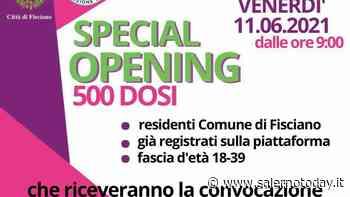 Open day vaccinale a Fisciano, a Nocera il centro per le dosi cambia sede - SalernoToday