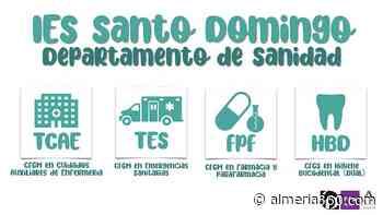 El IES Santo Domingo, referente en formación sanitaria en el Poniente almeriense - Almeria360 Noticias